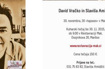 Kuharski tečaj David & Slaviša