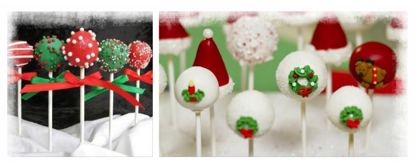 Praznični cakepops – tortice na palčki